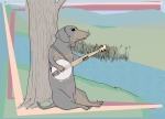 banjo w border small