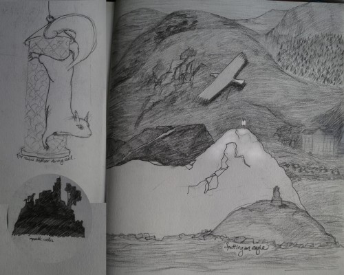 sketches from scotland