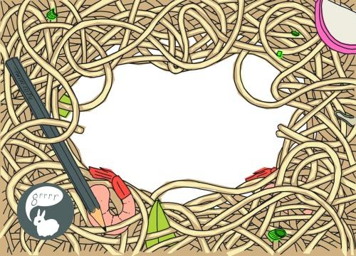 a6sticker noodles