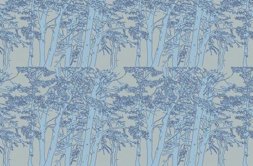 scottish tree pattern emma russell