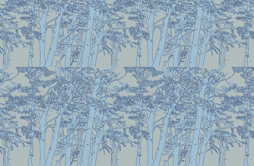 scottish tree pattern emma russell