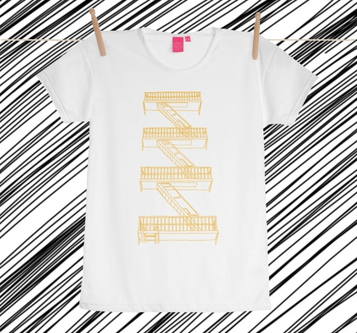 stairway zigzags