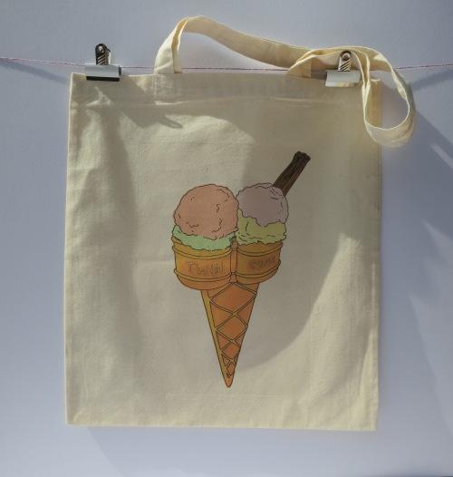 icecream tote double scoop long handles